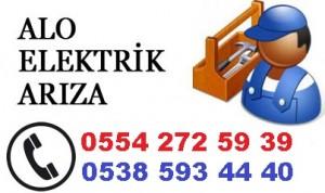 Antalya Fevziçakmak mahallesi elektrik ustası